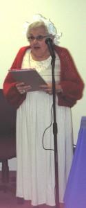 Irma Leeds honoring Abigail Adams