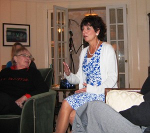 Assemblywoman-elect Connie Wagner addressing LWV Fair Lawn, December 2007