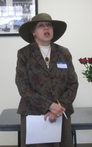 Minna Greenberg honoring Bella Abzug