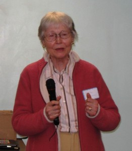 Brietta Savoie honoring Rachel Carson
