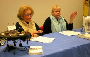Fran Davis & Nancy Wallace give a presentation on Susan B. Anthony and Elizabeth Cady Stanton
