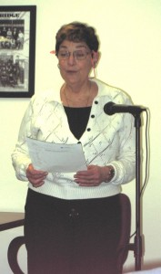 Jean Perkins is honored