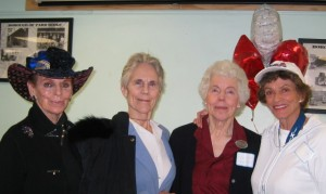 LWV Northern Valley members join the celebration