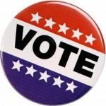 Vote buttton, small